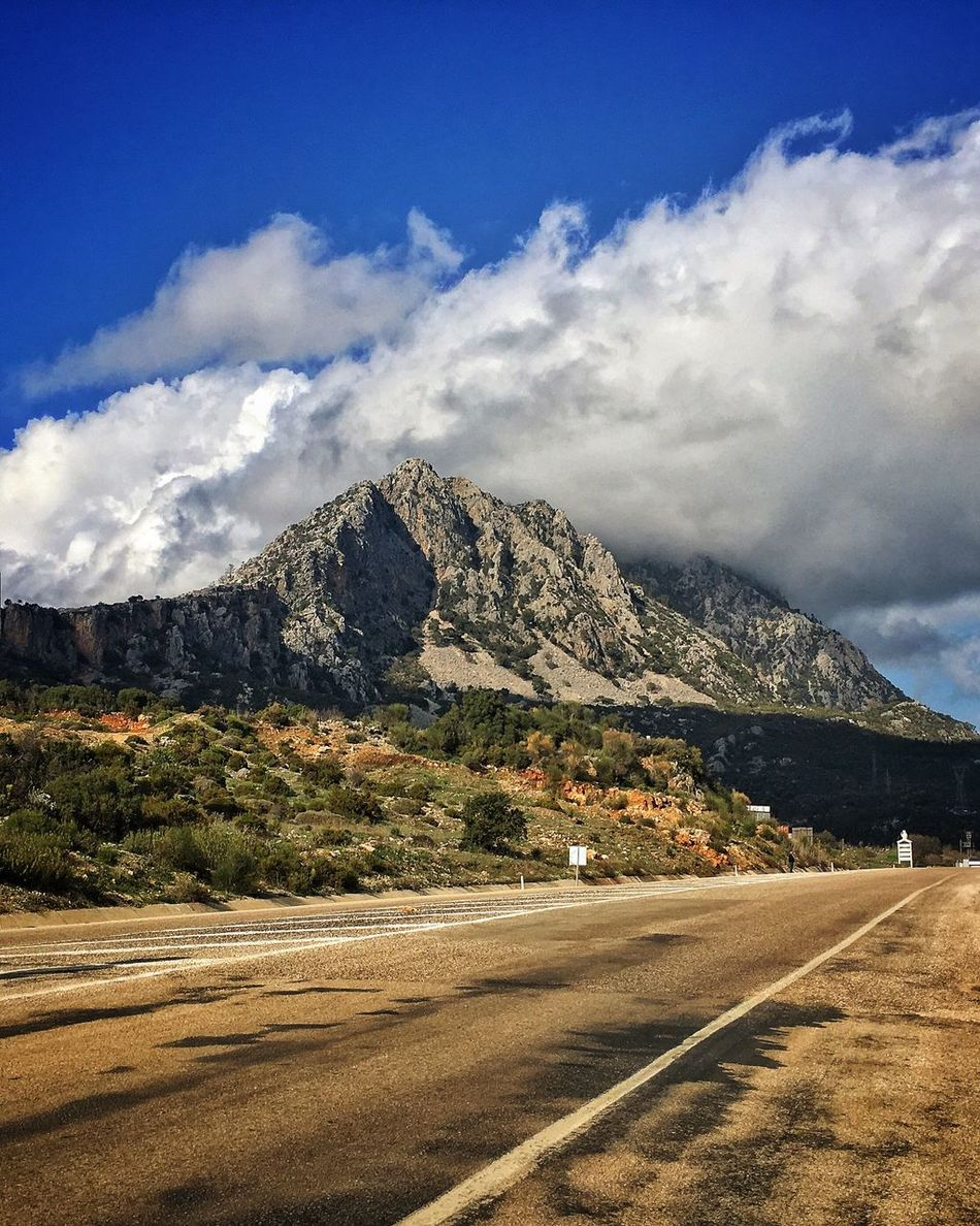 Road Sky Mountain Cloud - Sky Nature Day Outdoors Landscape Antalya Turkey Kumlucaolimpos