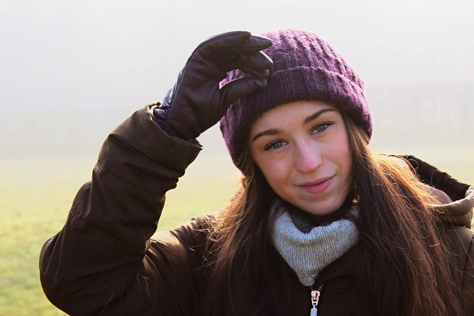 Warm Clothing Winter Happiness Knit Hat Portrait Smiling Young Women Young Adult Lifestyles Beauty Cold Temperature One Person Headshot Real People Beautiful Woman Scarf Close-up Outdoors My Girlfriend <3  Freshness Cheerful EyeEmNewHere