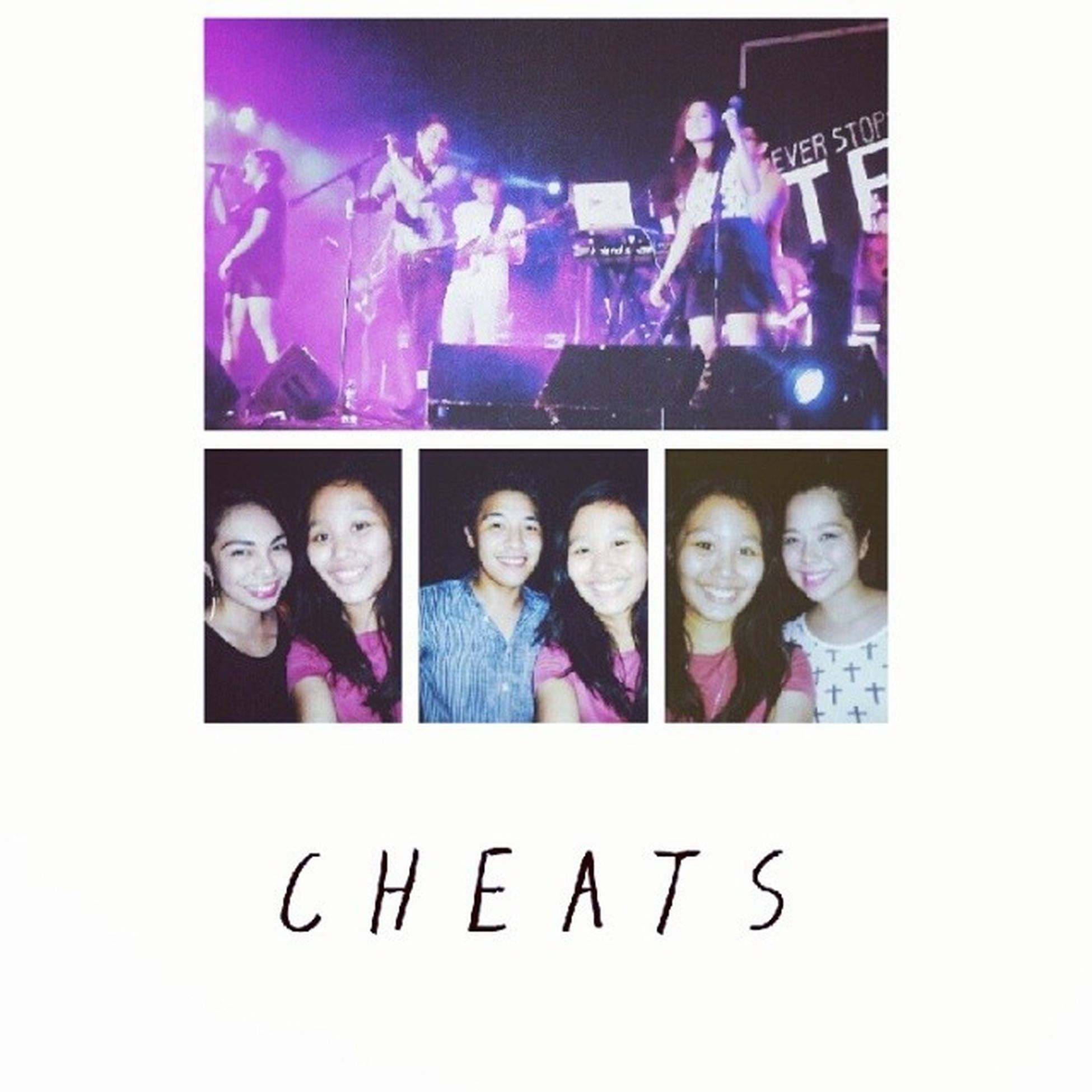Had an awesome time last night!!! Thank you, CHEATS!!! ♥♥♥ UNITEDConcert HelpingNeverStops