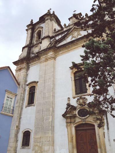 Igreja de Santo Agostinho! Leiria Portugal Urbanphotography Old Church Street Photography Autumn2015