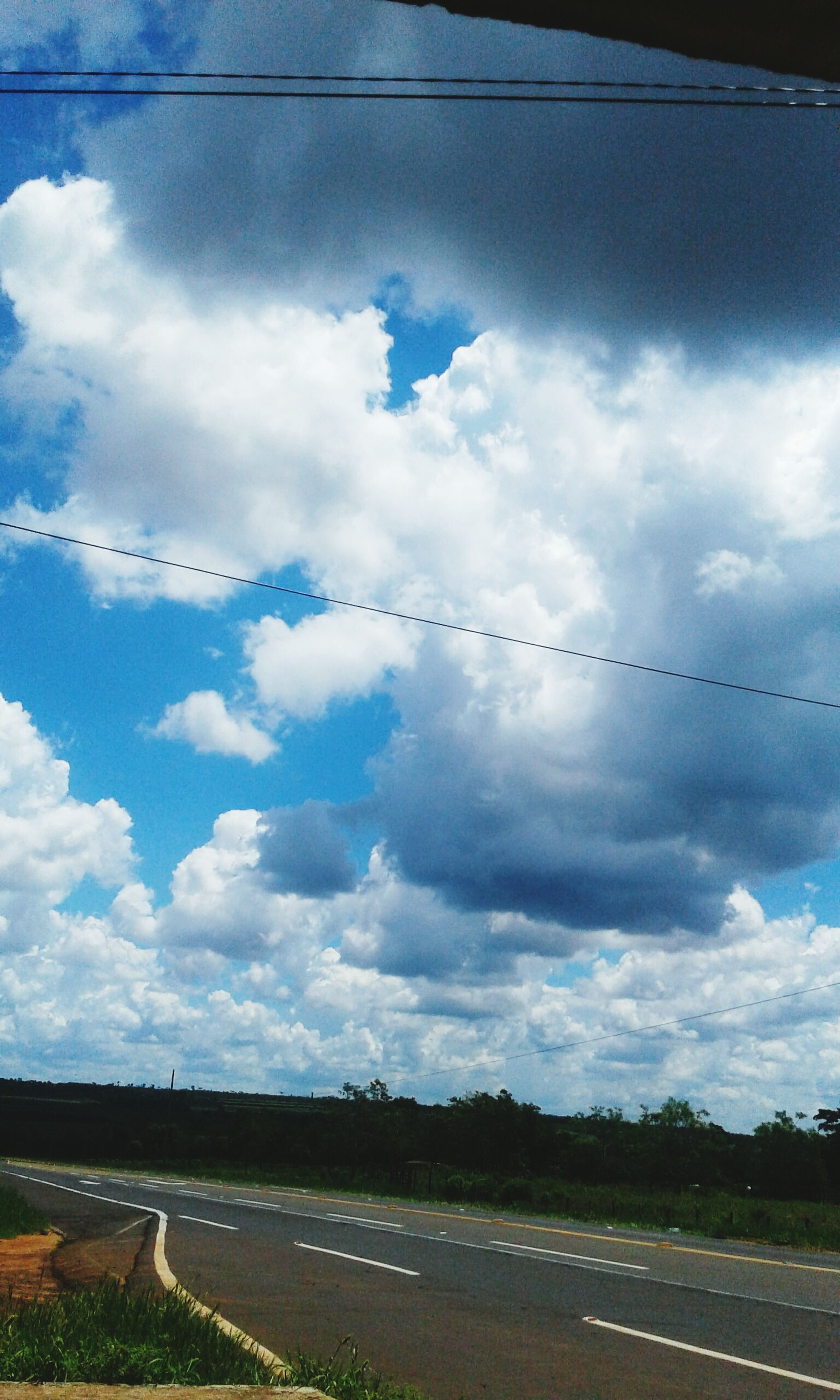 cloud - sky, sky, blue, no people, outdoors, scenics, day, nature