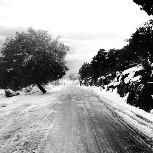 Snow Cold Weekend Marcharbel  beautiful