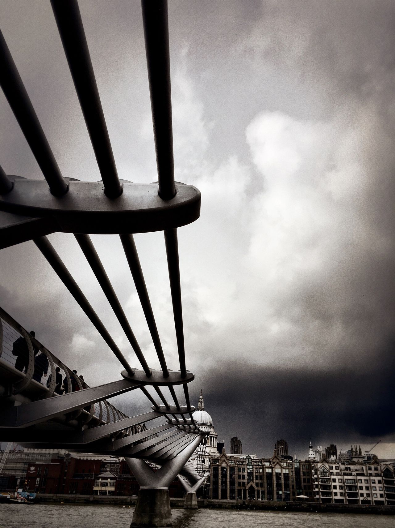 St Paul's Cathedral Iconic Buildings Iconic London Wobbly Bridge Fine Art Photography