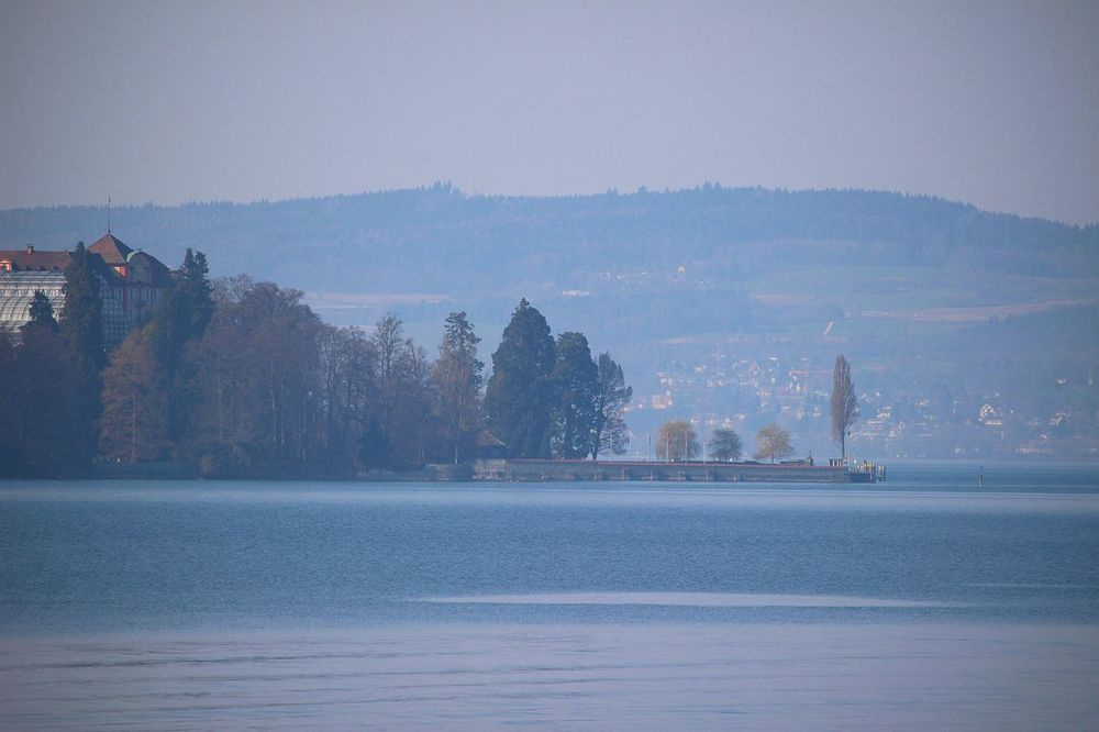 Building Exterior Water Waterfront Architecture Built Structure Nature No People Tree River Sky Outdoors Cold Temperature Winter Beauty In Nature Day Bodensee Bodenseeregion Bodenseekreis Mainau Insel Mainau Insel Mainau
