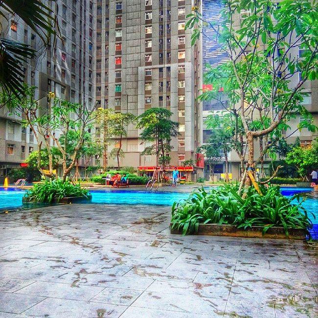 Berenang time... Architecture HDR Vivo Snapseed INDONESIA Greenbay Panorama Swimingpool Fresh