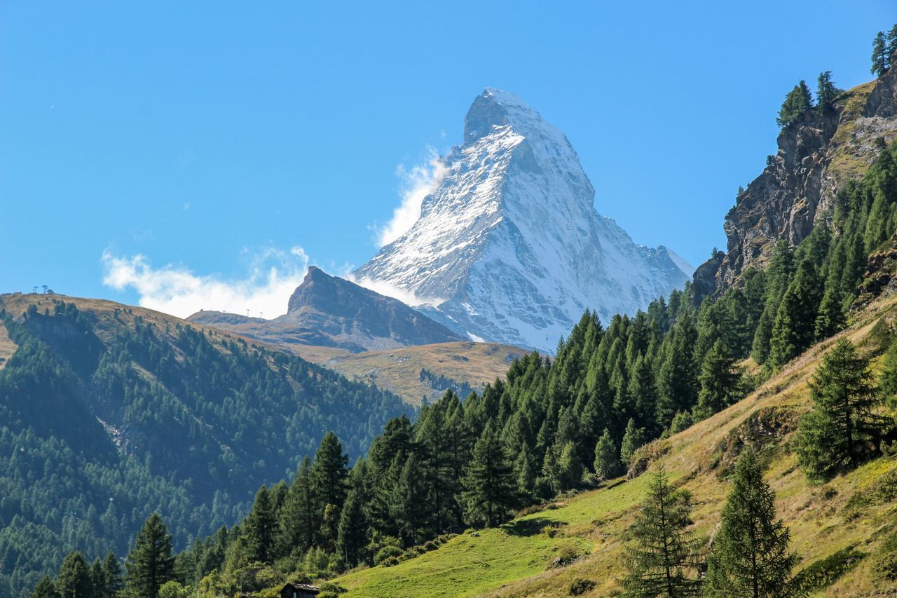 Matterhorn is nice. It inspired the form of famous chocolates Toblerone Enjoying Life Traveling Nature Landscape EyeEm Nature Lover Travel Eye4photography  EyeEm Best Shots On The Road EyeEm Gallery EyeEmPaid