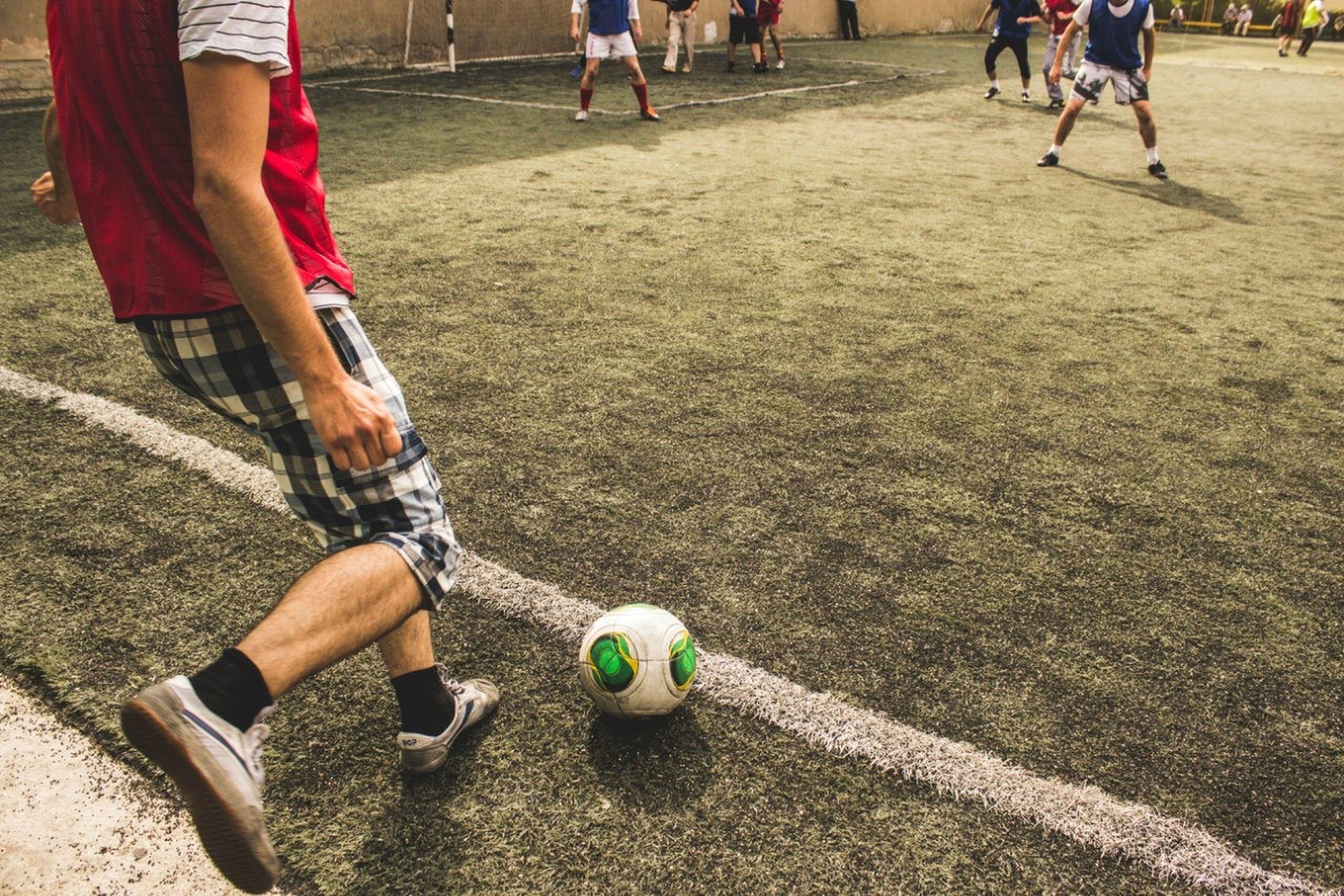 Благотворительняй футбол
