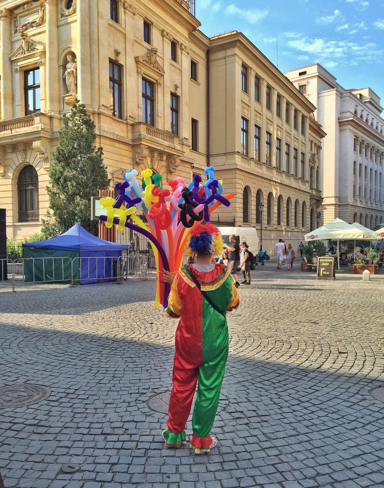 Beautiful stock photos of clown, Bucharest, Hostel, Romania, Vertical Image