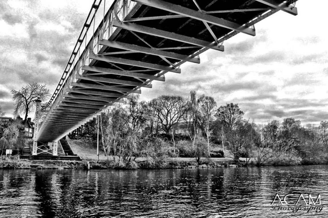 Bridge over troubled waters HDR Hdr Edit Black And White Water