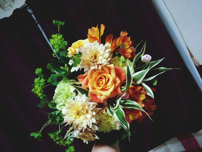 Japan ラウンドブーケ Flower 花束 最初よりは少し成長したと実感できた日だった。