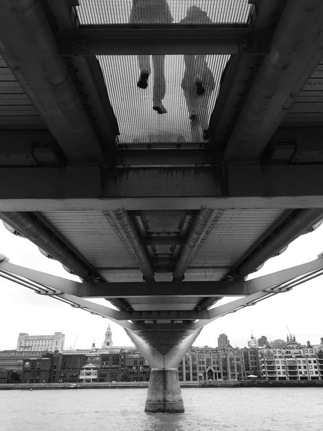 Under the bridge Shades Of Grey Urban Landscape London Calling Architecture Eye4black&white  Monochrome Seeing The Sights My Best Photo 2015