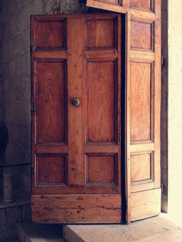 Closed Door Architecture Wood - Material Built Structure Building Exterior Old Entrance Day Outdoors History Italia