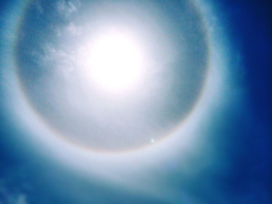 The ring! Enjoying The Sun Rainbow Vigo