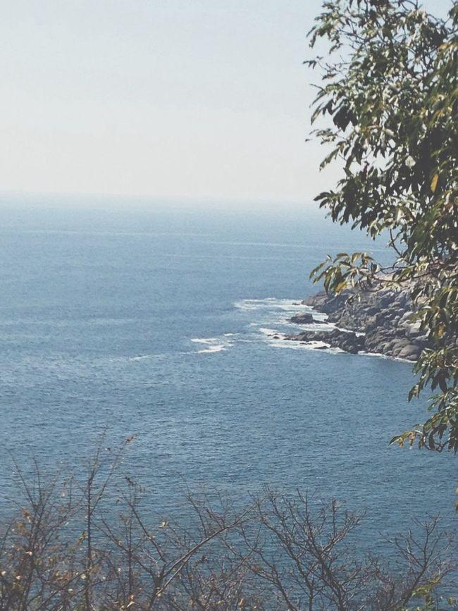 View from my room Sea Las Brisas Huatulco Mexico