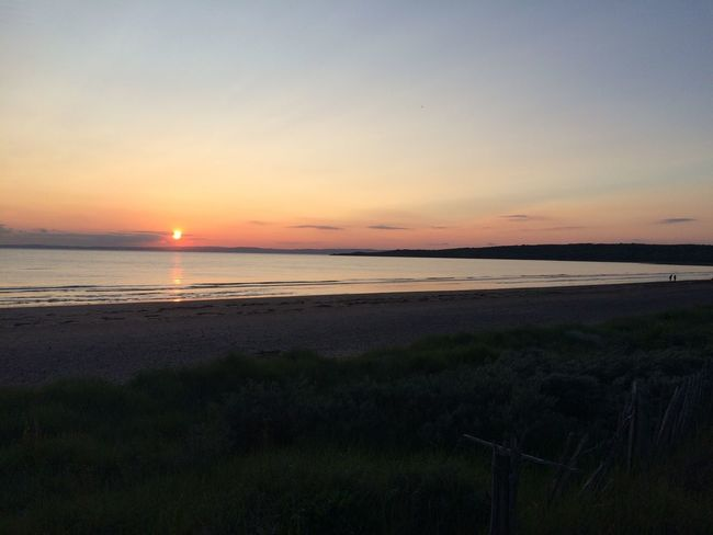 Relaxing Taking Photos IPhoneography Sand Bay Peace And Quiet Sunset No Edit/no Filter