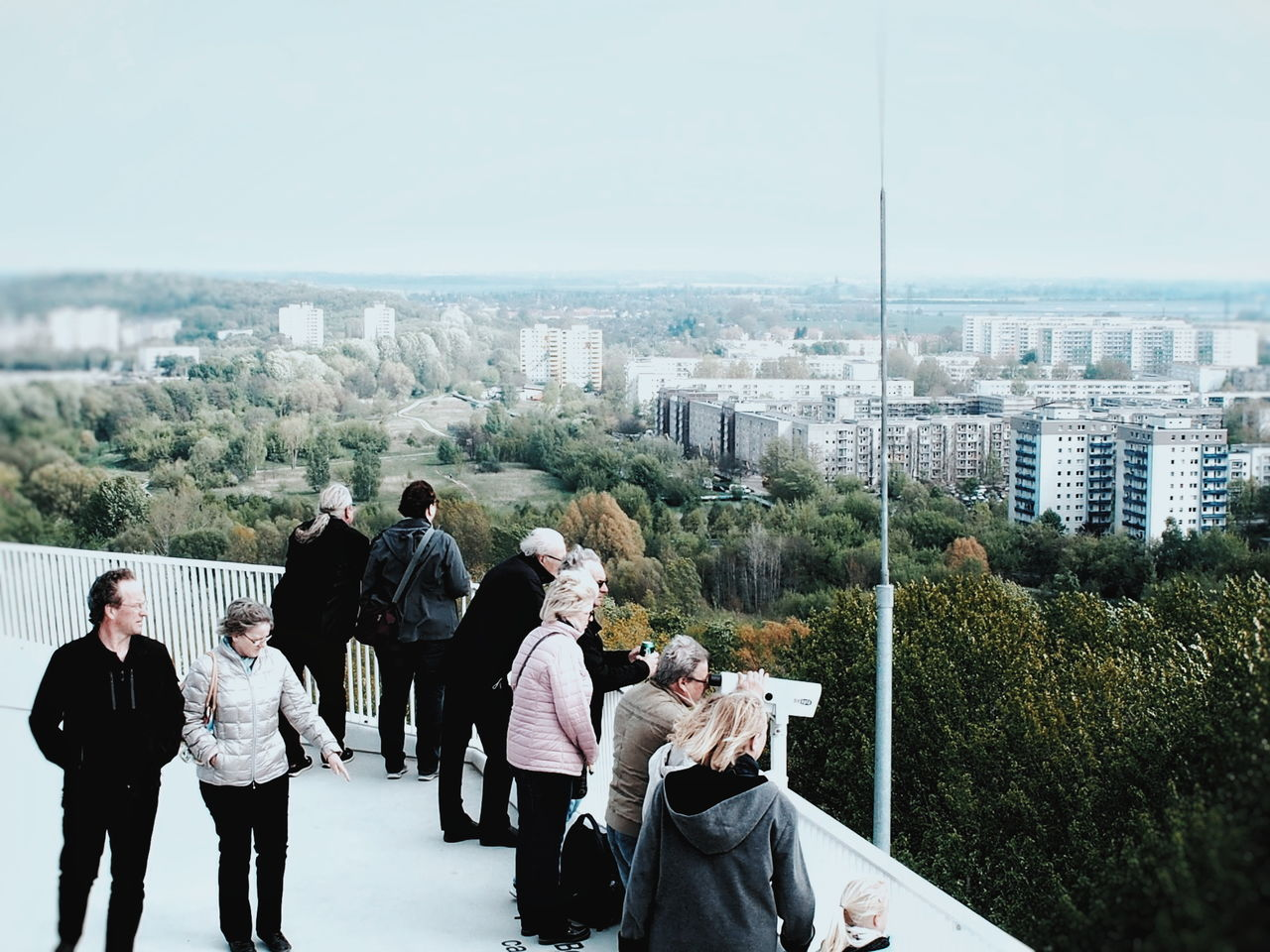 Watching the Skyline of Marzahn ... Day Adult Outdoors People Cityscape Sky Streetphoto_color Streetphoto Streetphotography Architecture Plattenbau Plattenbauromantik White The Great Outdoors - 2017 EyeEm Awards The Street Photographer - 2017 EyeEm Awards The Architect - 2017 EyeEm Awards