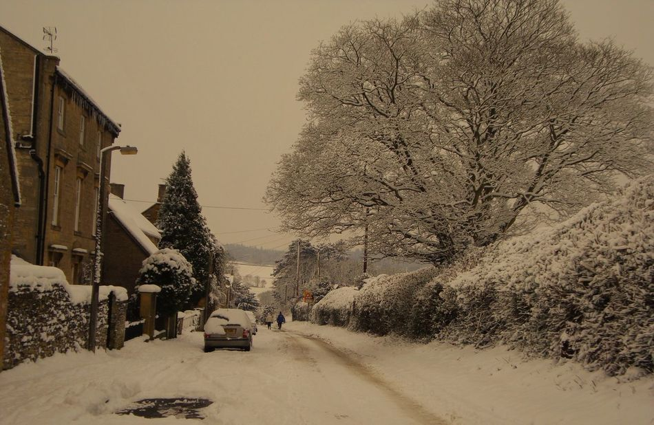 Car Cold Temperature Cotswoldvillages Nature Outdoors Snow Snow Covered Snow ❄ Snowing The Way Forward Transportation Tree Winter EyeEm Best Shots EeyemBestEdits Snow Day ❄ Snowy Morning Snow❄ Snowy