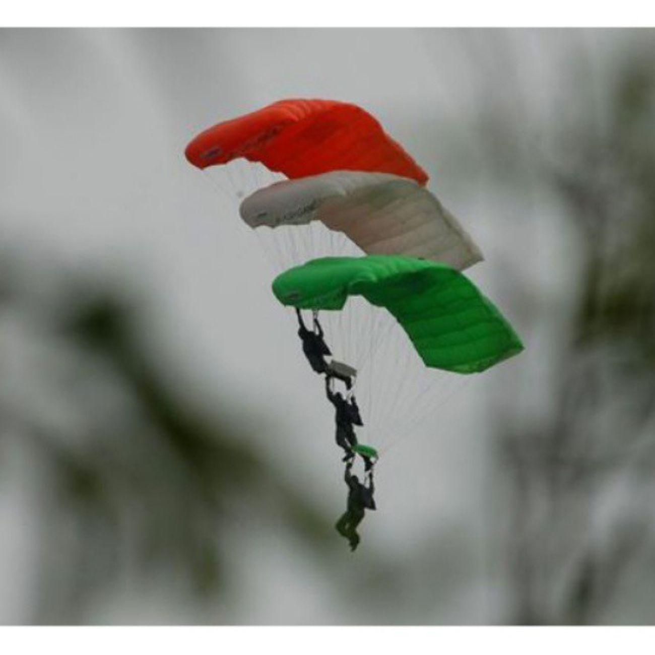 Tricolors ParaJumping Parachute AakashGanga Chennai