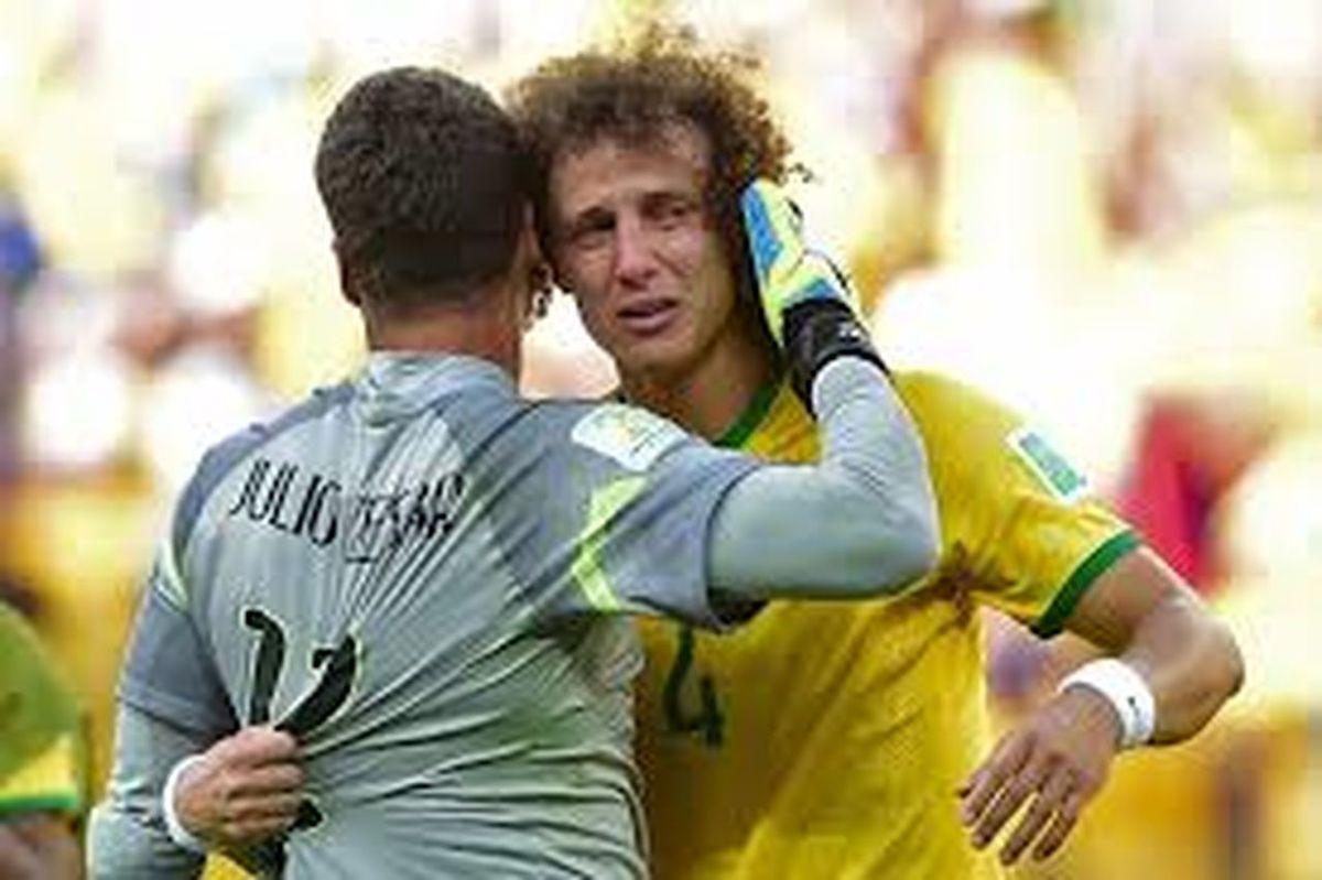 HeartBreaking Thank You Guys! David Luiz Sad Day #love #brazilnt #hero