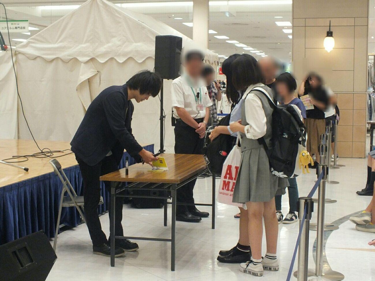 サイン会 IndieBand Jpop Autograph ,fans,good People Longline Shoppingmall Vocalist Debut