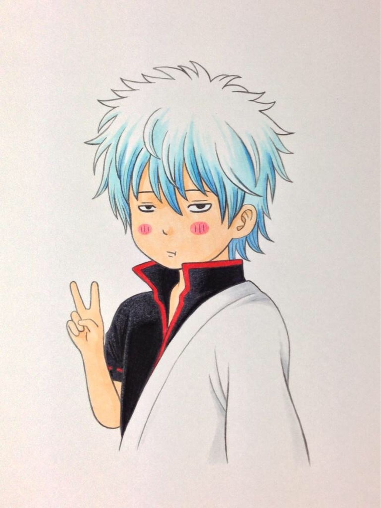 Like It Lover GIN Gintama SAKATA Gintoki Comic Japan Like Drawing