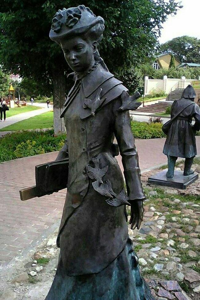 земская учительница скульптура статуя кропоткина Starting A Trip Dmitrov Statue Figure Taking Photos Photography