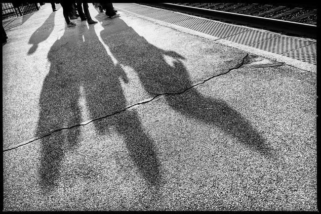 Early risers for the early train for an early start. My Commute The Street Photographer - 2016 EyeEm Awards The Photojournalist - 2016 EyeEm Awards Commuting Monochrome Photojournalism Reportage EyeEm Best Shots Eye4photography  Storytelling Shootermag_usa Documentary IPhoneography Hipstamatic