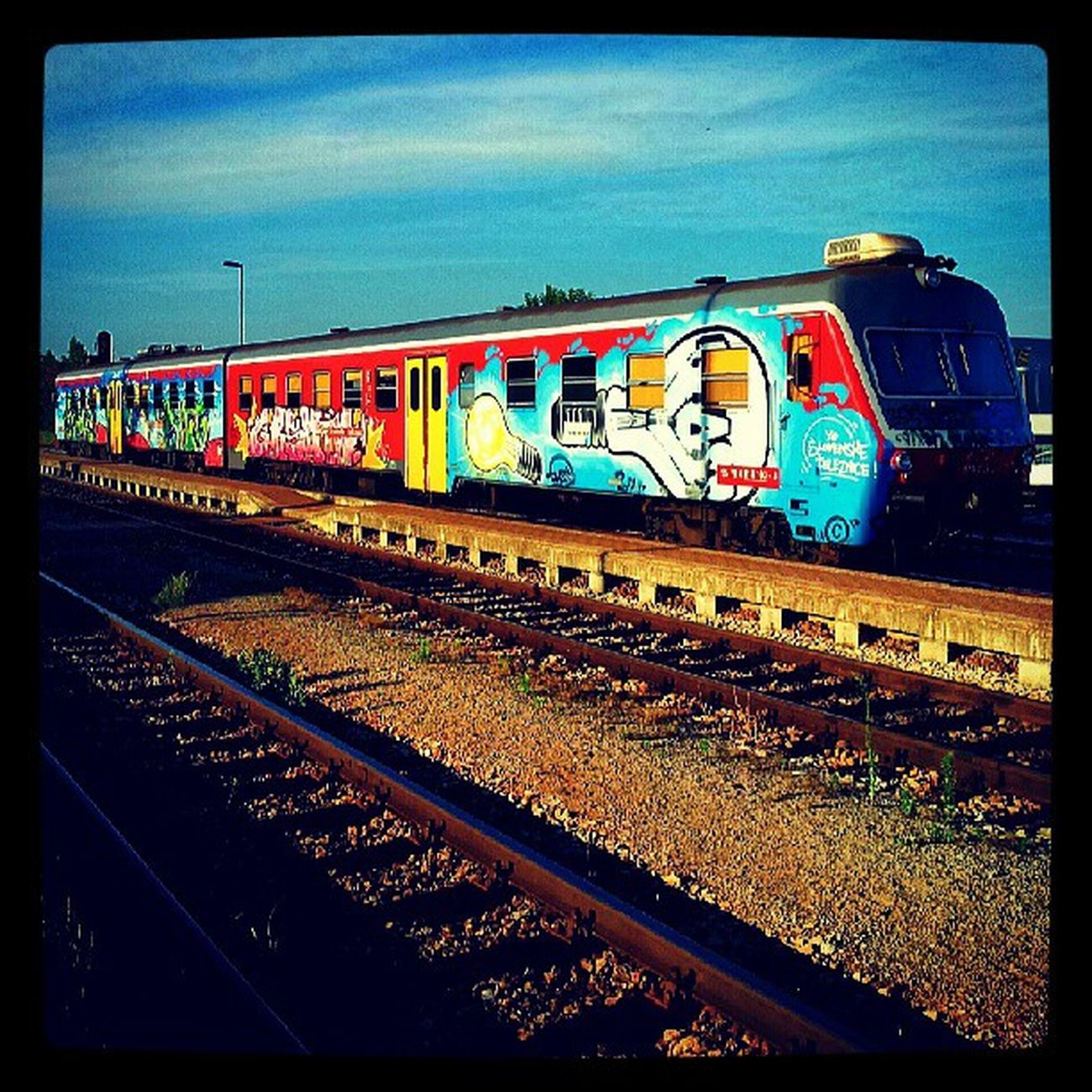 Igslovenia Zelezniska Postaja Murska sobota potniski vlak diesel nafta