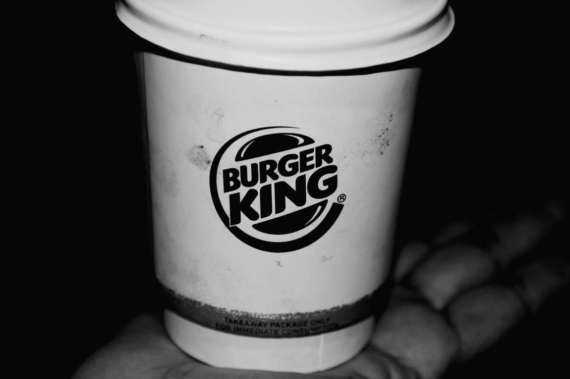 Time for coffee Burgerking Rejuvenating