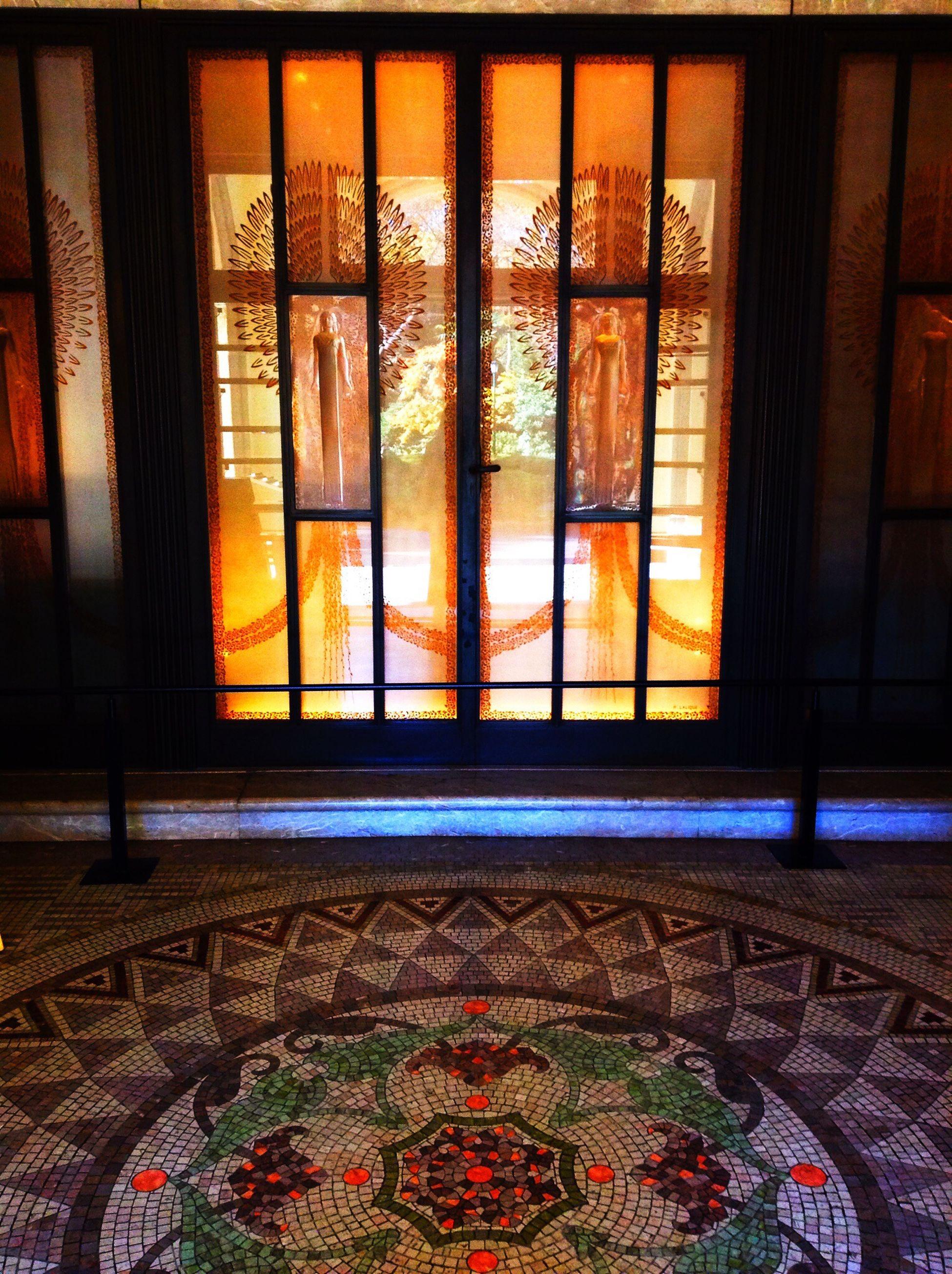 Art Deco Architecture Art Deco Museam Architecture Mosaic アールデコ 旧朝香宮邸 1933. Lalique TTTokyoJJJapan