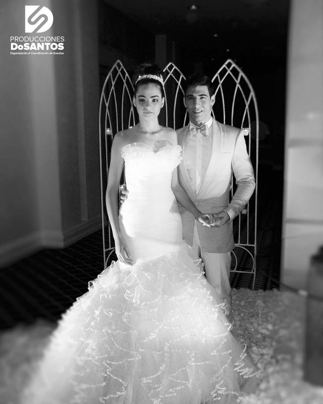 Bridal Week Dominican Republic 2013 #tbt #wedding #weddingplanner #weddingdress #weddingday #weddingcake #weddingmakeup #bridalhair #bridalmakeup #bridalparty #photo #photographer #jdosantosphotos #photography #photoshoot #photooftheday #producer #production #events #weddingevent #location Bride Wedding Dress Looking At Camera Two People Heterosexual Couple Wedding Portrait Adults Only Indoors  Beautiful Woman Adult Strapless  Standing People Wife Young Adult Men Young Women Bridegroom Day
