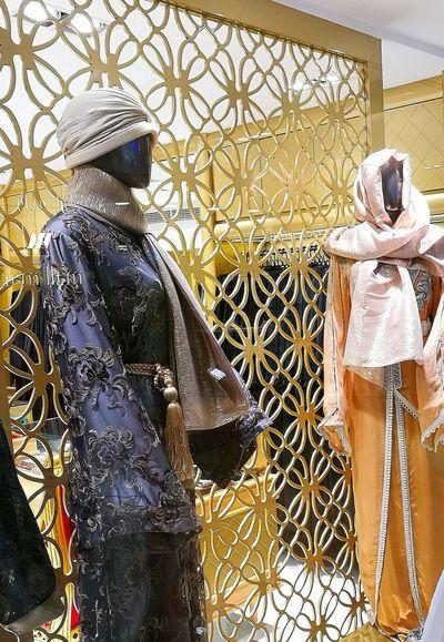 Dubai DubaiMall Store Store Decor Maneken Arabic Style Dresses Fashion Stories