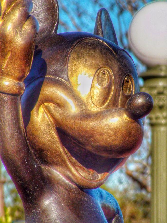 The Magic Kingdom Walt Disney World Mickey Mouse Mickey Statue Bronze