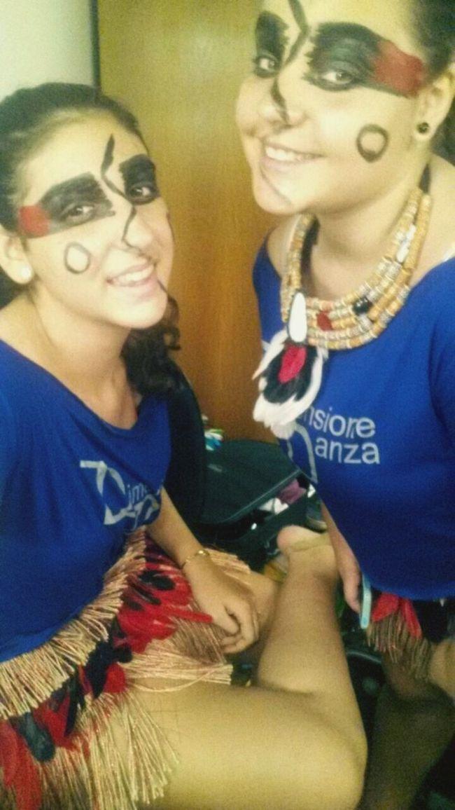Amazônia...Índias mais lindas... Dancing
