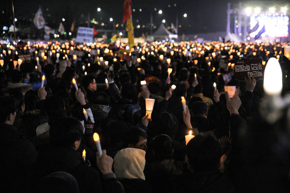 Candle Revolution Candle Candlelight Candles Candles Of Faith Candle Flame Democracy Democracy Monument Documentary Photography Street Snapshot Snapshots Of Life Feeling Inspired City Large Group Of People Real People Crowd Night