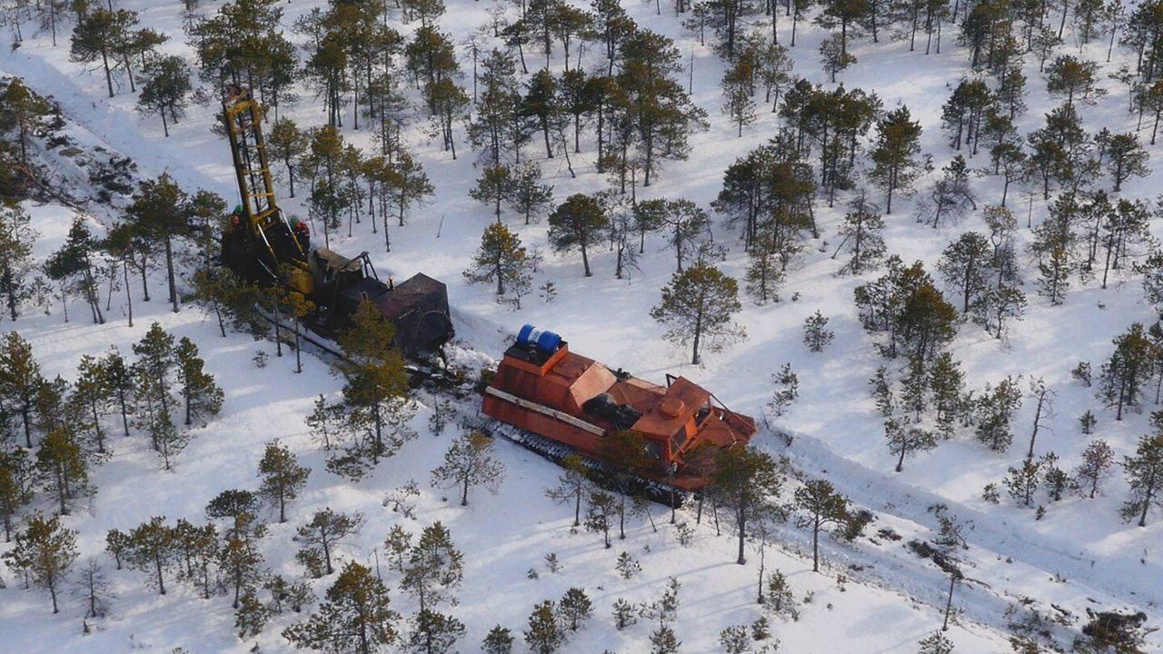 Siberia Dji Cool снег Snow зима скважина добыча Aerial Shot Aerial Photography