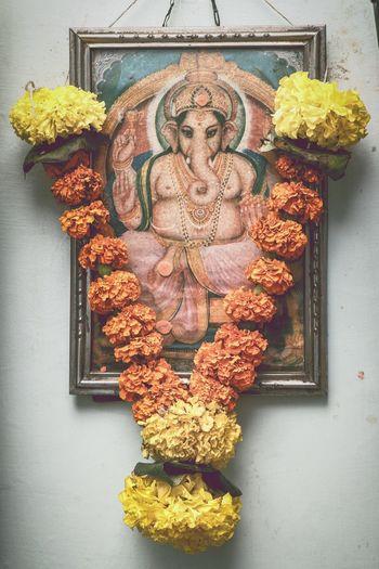 God Is Great. God Is Good Faith Faith In God GanpatiBappaMorya Ganapati Ganpati Bappa Morya Ganapati Bappa Morya....! GanapatiBappa LoveGod Faith Devmajha Be. Ready. EyeEmNewHere