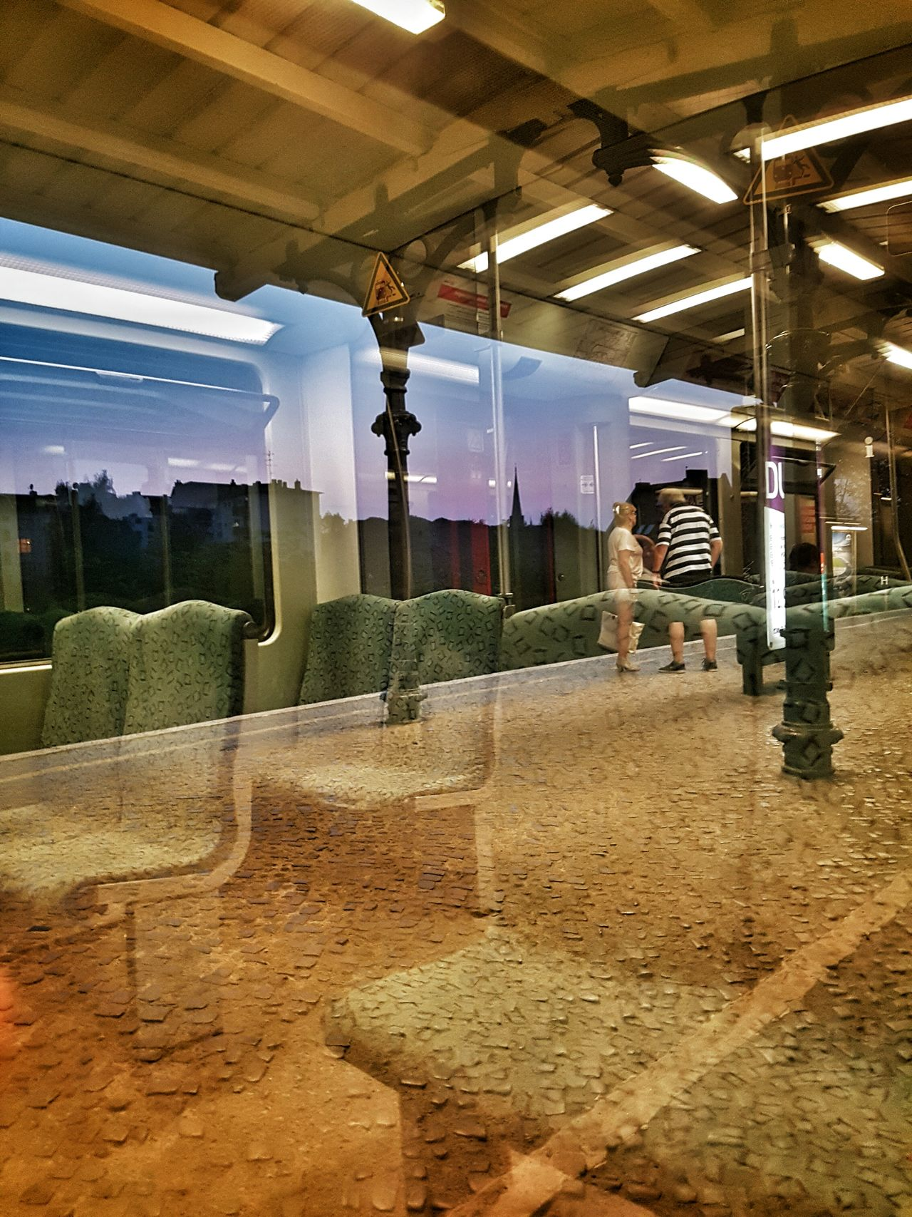 Ages journey EyeEm Best Shots Yorkstrasse Berlin Reflections Movement Train Station Passage Time