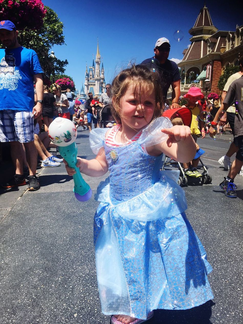 A Cinderella dress for the little most beautiful princess across the seven seas !!😘 Myworld Cinderella Castle