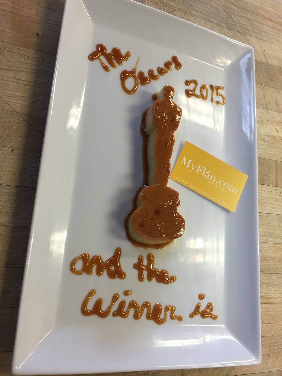 Foodporn Oscars Awards Flan Pastry Dessert Pudim Desserts Myflan Food