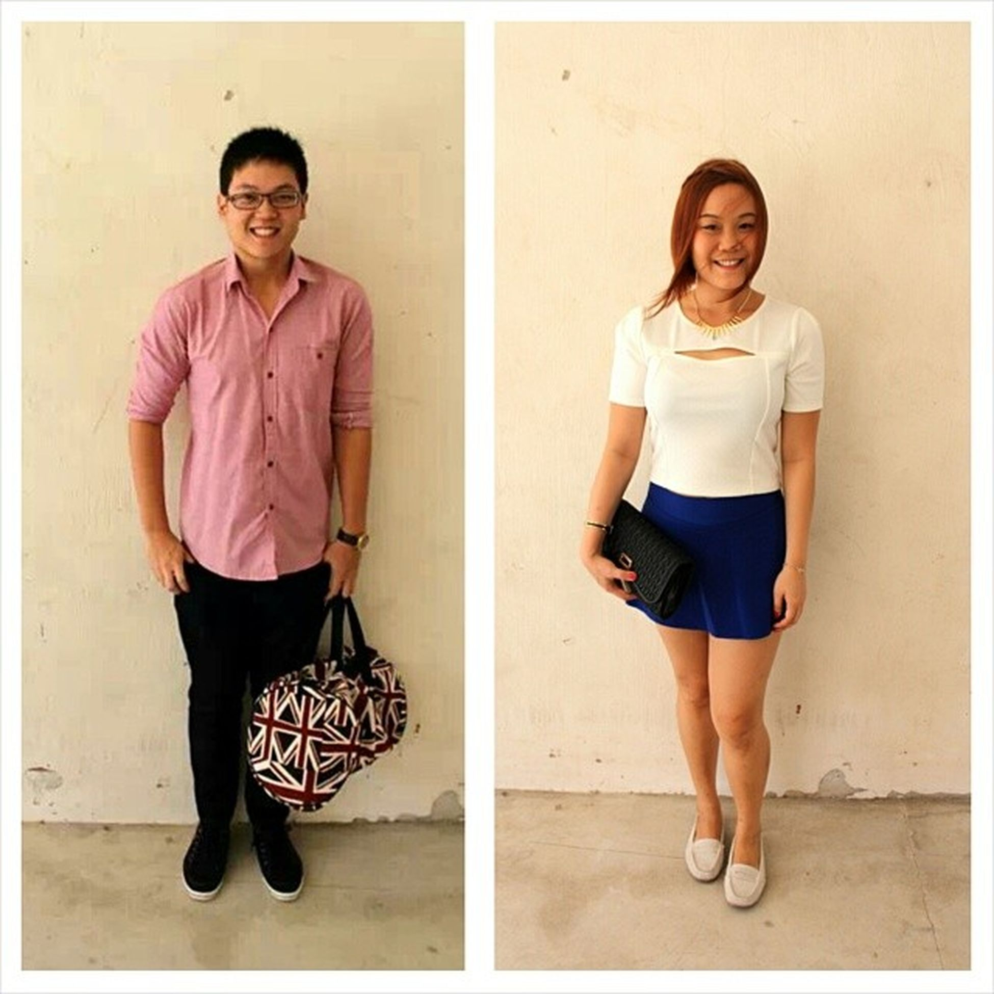 The Ootd of I and @stungxo for 初一.