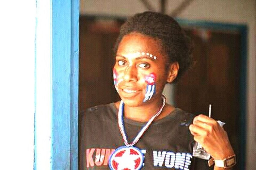 West Papua Girl. Papua Free Of Indonesia Colonial West Papua Want To Free Of Indonesia Colonial. West Papua Politic Of Freedom West Papua Flag Social Issues Patriotism Countrylife West Papua Women