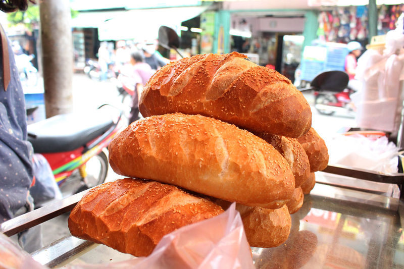 Baguette Baked Bakery Banhmi Banhmivietnam Banhmy Bread Breakfast Cereal Plant Food Food And Drink Freshness Gourmet Homemade Loaf Of Bread Meal No People Vietnamfood Vietnamfoods Vietnamfoodstreet