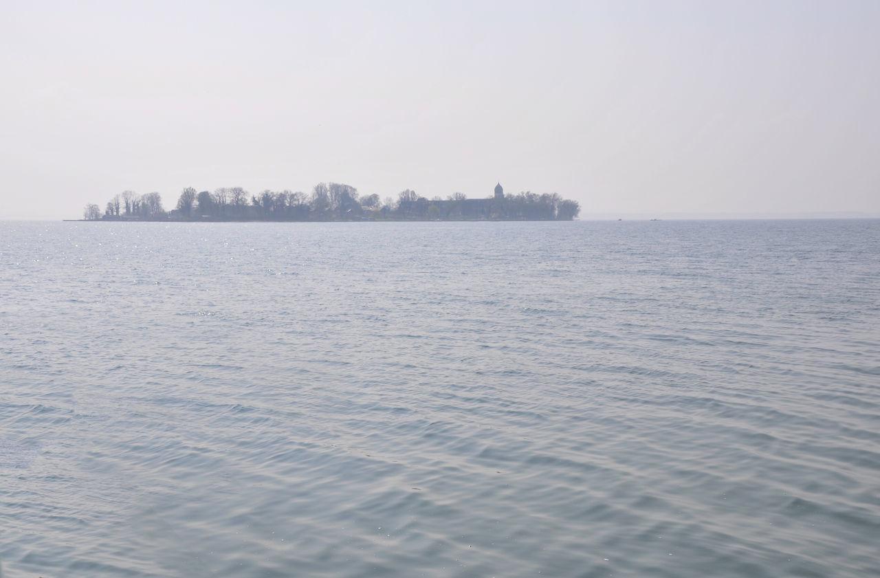 chiemsee,insel Chiemsee Day Herreninsel Island No People Outdoors Sea See Sky Water Wideness