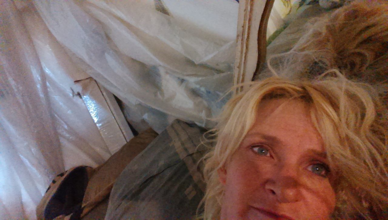 Rosemary... .. . Beauty Blond Hair Close-up Curtain Homeless Looking At Camera One Person One Woman Only People Women