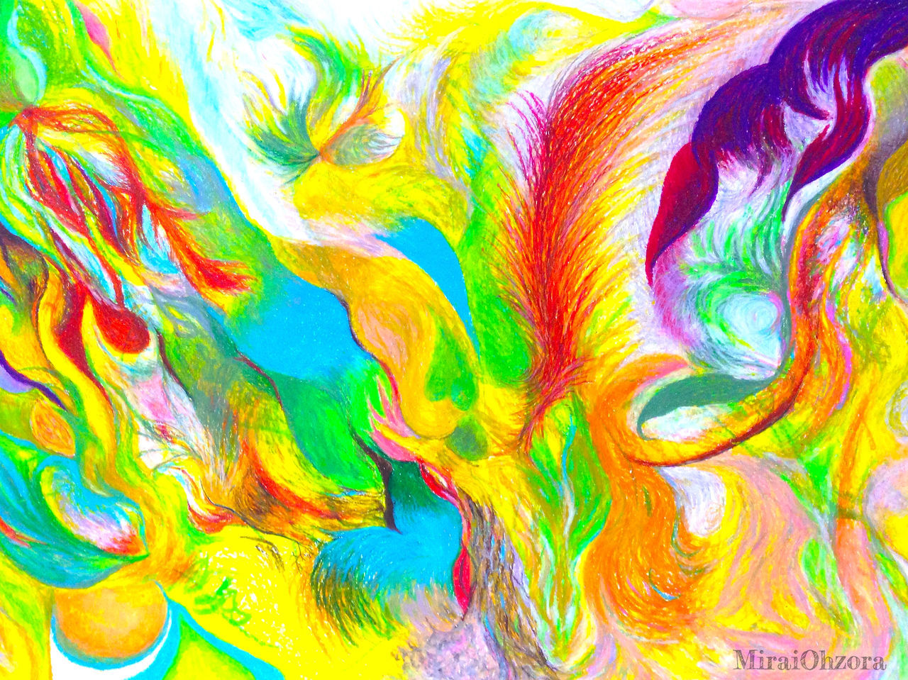 multi colored, pattern, abstract, green color, backgrounds, textured, full frame, close-up, no people, day