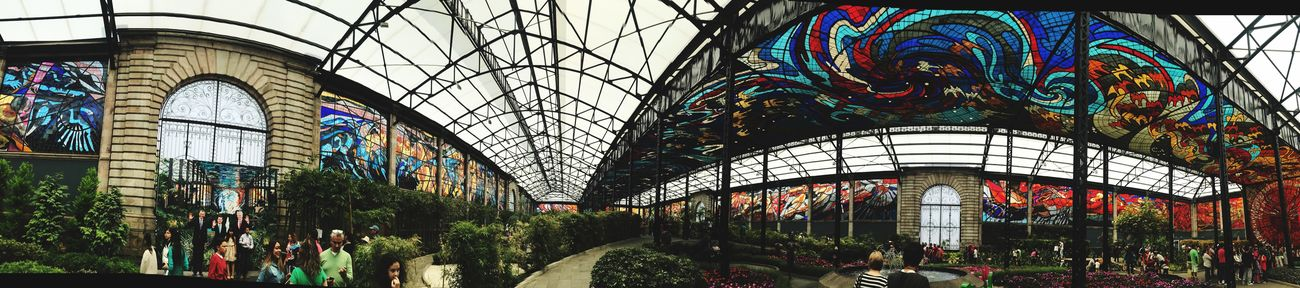 THIS IS MÉXICO Multi Colored Panoramic Architecture Cristal Mexico EyeEmNewHere Break The Mold