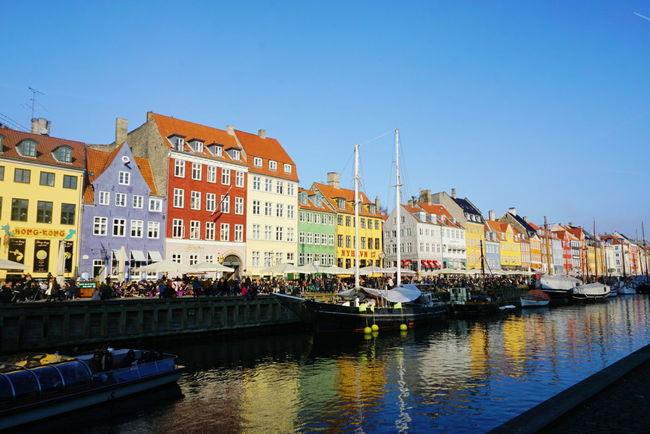 Colorful CopenhagenCopenhagen, Denmark Copenhagen Denmark Canaltours EyeEm Gallery EyeEm Best Shots - Architecture Traveling Colorful