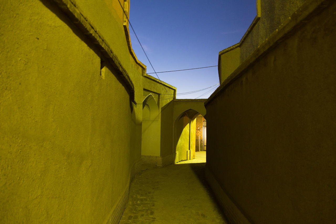 Architecture Dusk Empty Iran Middle East Outdoors Path Persia Sky