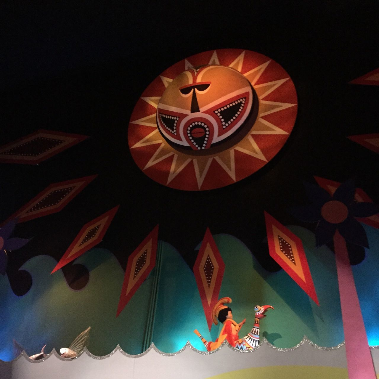 Low Angle View No People Night Indoors  Close-up Disney DisneyWorld It's A Small World